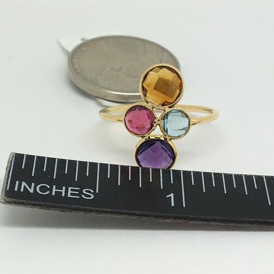 other 18K Yellow Gold Natural Multi-Stone Ring Image 5