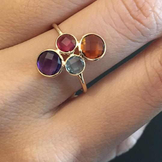 other 18K Yellow Gold Natural Multi-Stone Ring Image 7