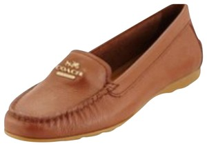 Coach New Never Worn Loafers Size 10 Camel Flats