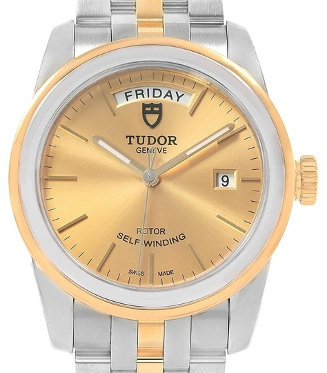 Preload https://img-static.tradesy.com/item/24034672/tudor-champagne-glamour-day-date-steel-yellow-gold-mens-56003-watch-0-1-540-540.jpg