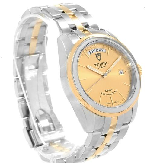 Tudor Tudor Glamour Day Date Steel Yellow Gold Mens Watch 56003 Image 2