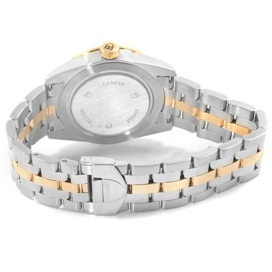 Tudor Tudor Glamour Day Date Steel Yellow Gold Mens Watch 56003 Image 6