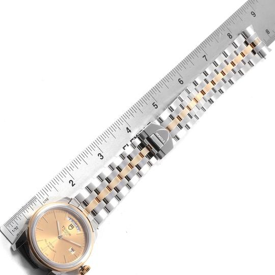 Tudor Tudor Glamour Day Date Steel Yellow Gold Mens Watch 56003 Image 9