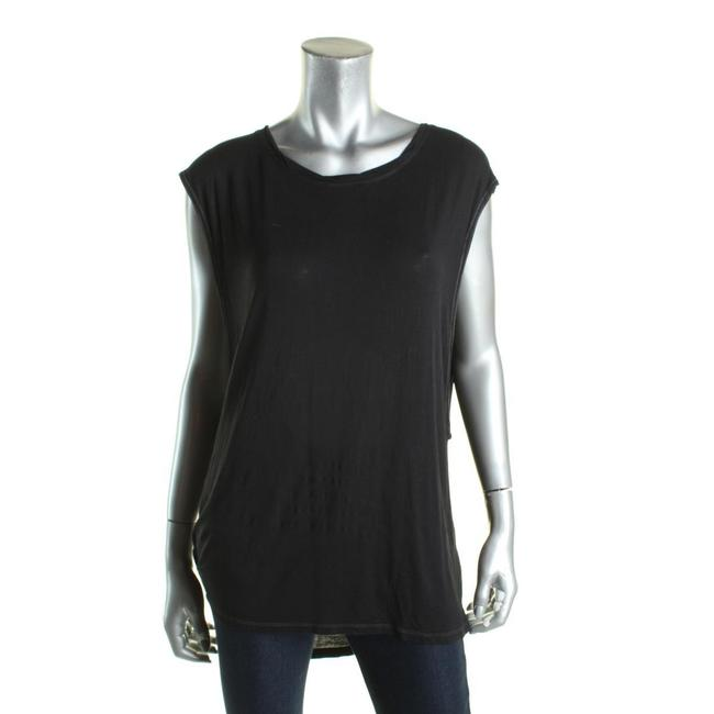 Free People Sleveless Muscle Top Black Image 3