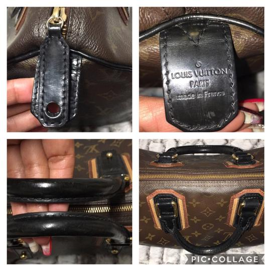 Louis Vuitton Satchel in Noir/Black Image 10