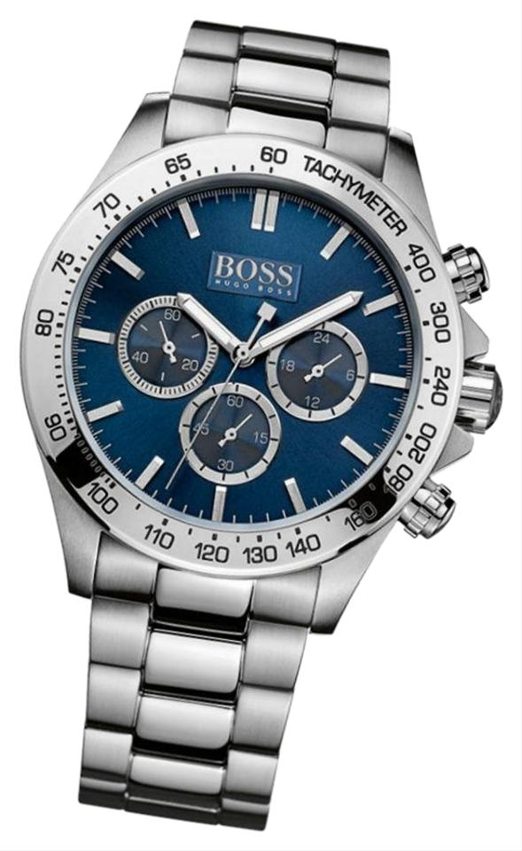 0eb62c1c Blue Dial Ss Band Men's Classic Chronograph Stainless Steel 1512963  Watch. HUGO BOSS. Blue ...
