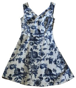 Blu Pepper short dress blue and white on Tradesy
