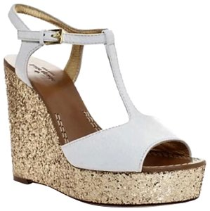 1586707ac10 Gold Kate Spade Wedges - Up to 90% off at Tradesy