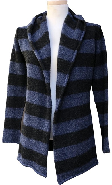 Preload https://img-static.tradesy.com/item/24035203/vince-charcoal-blue-open-hooded-cardigan-size-6-s-0-1-650-650.jpg