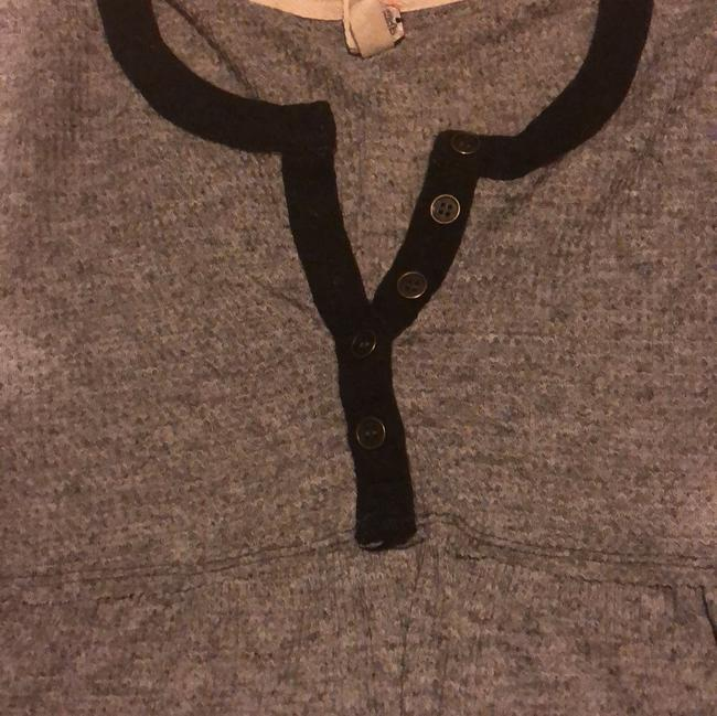Free People Button Down Shirt Grey Image 2
