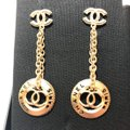 Chanel NWT Brand New 2018 Gold Dangling Large Chain Medallion CC Image 7