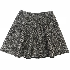 MSGM Mini Skirt Black/White/Gray