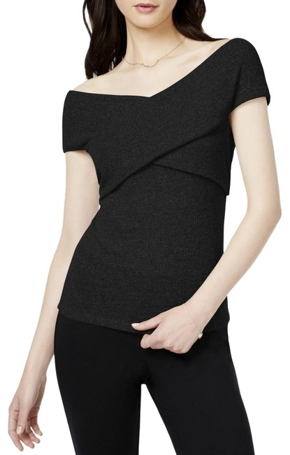 Preload https://img-static.tradesy.com/item/24035662/black-iii-womens-off-the-shoulder-ribbed-pullover-l-blouse-size-12-l-0-1-650-650.jpg
