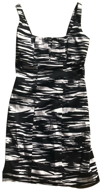 Preload https://img-static.tradesy.com/item/24035739/calvin-klein-black-and-white-strappy-mid-length-cocktail-dress-size-2-xs-0-1-650-650.jpg