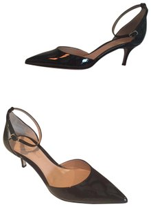 Gianvito Rossi Patent Party Pointed Toe black Pumps