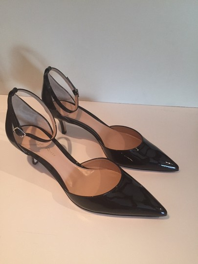 Gianvito Rossi Patent Party Pointed Toe black Pumps Image 1