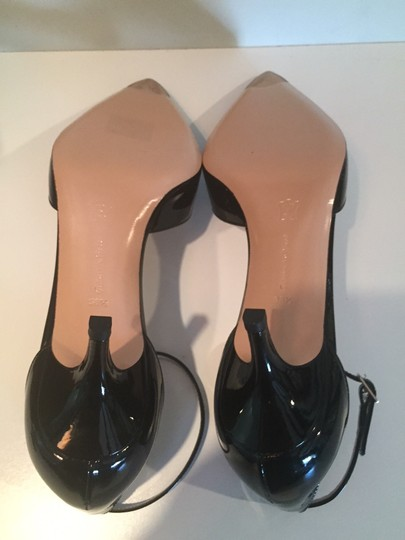 Gianvito Rossi Patent Party Pointed Toe black Pumps Image 3