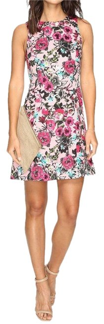 Preload https://img-static.tradesy.com/item/24035795/kensie-multicolor-women-s-regular-wild-garden-printed-with-cut-out-short-cocktail-dress-size-4-s-0-1-650-650.jpg