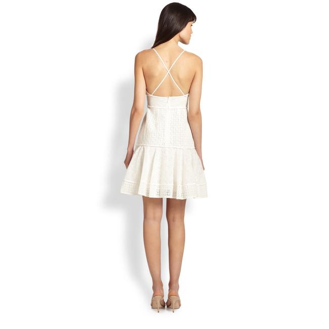 Marchesa Voyage short dress White on Tradesy Image 1