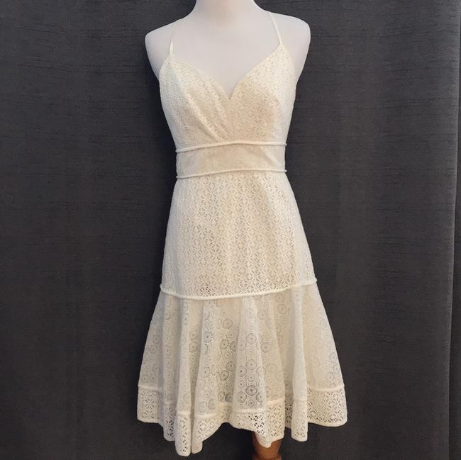 Marchesa Voyage short dress White on Tradesy Image 2