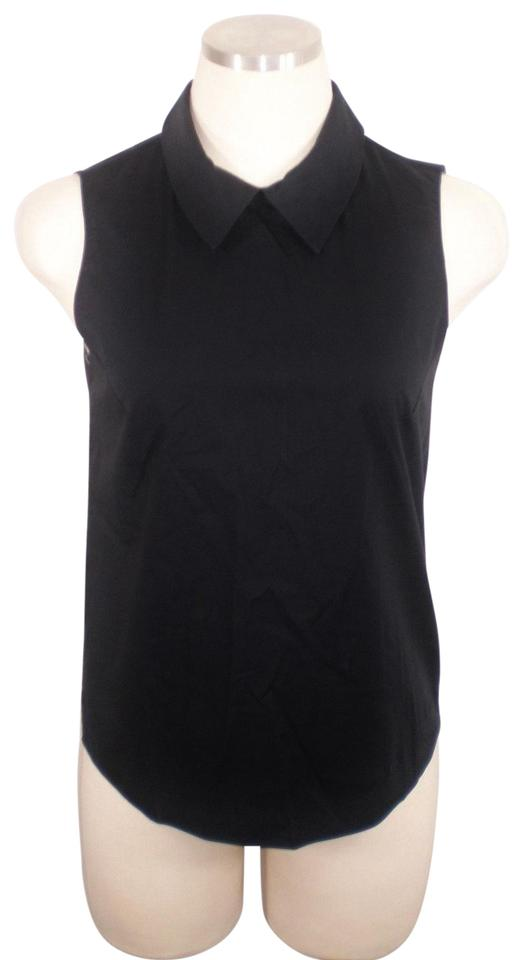151ec0975a1c70 Jil Sander Black Sleeveless Fitted Blouse Size 2 (XS) - Tradesy