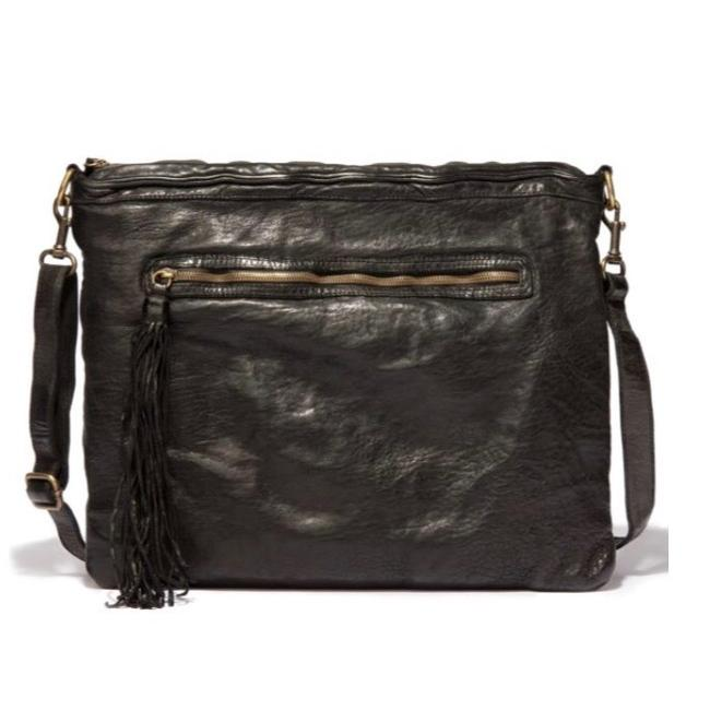 Johnny Was Allegra Washed Leather Cross Body Bag Johnny Was Allegra Washed Leather Cross Body Bag Image 1