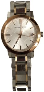 Burberry BU9006 Rose Gold and Silver Unisex Watch