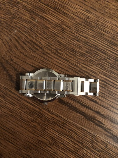 Burberry BU9006 Rose Gold and Silver Unisex Watch Image 4