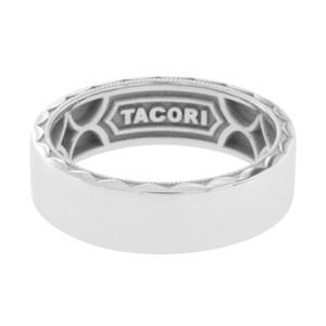 Tacori TACORI 18K Gold Sculpted Crescent Men's Wedding 7 mm Band