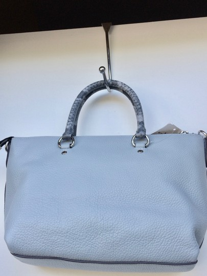Coach On New With Tags Satchel in Pale Blue Image 8