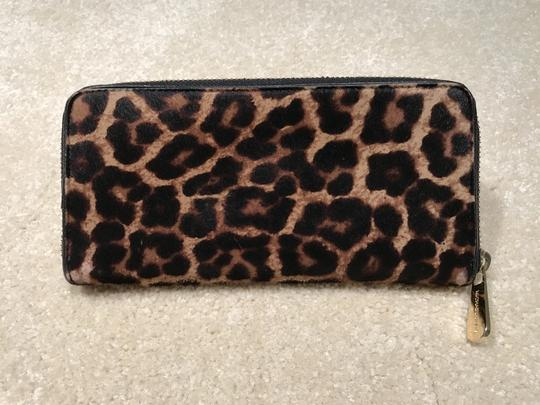 Michael Kors Michael Kors Hair Calf Leopard Print Wallet (MK Dustbag Included) Image 2