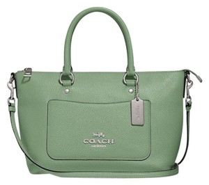 Coach New With Tags Satchel in Clover