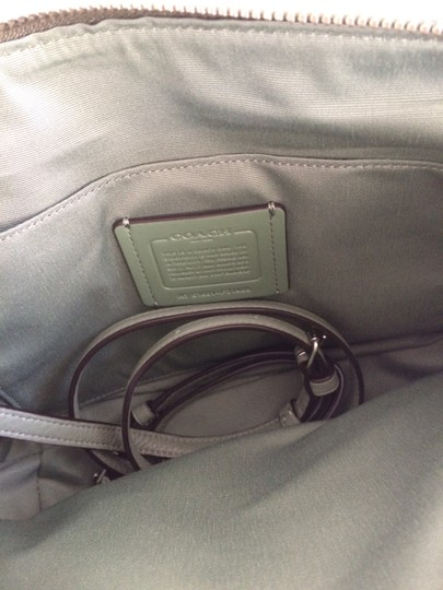 Coach New With Tags Satchel in Clover Image 3