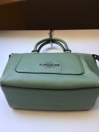 Coach New With Tags Satchel in Clover Image 5
