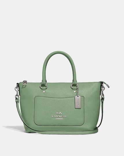 Coach New With Tags Satchel in Clover Image 8