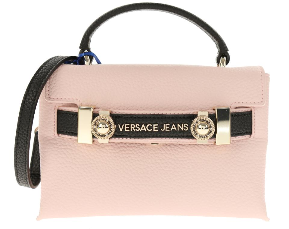 adf2eb8acac4 Versace Jeans Collection Soft Pink Faux Leather Cross Body Bag - Tradesy