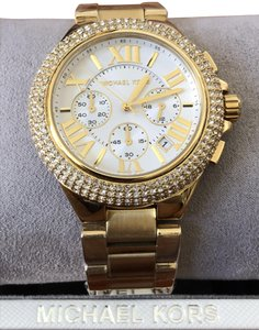 Michael Kors Camille Tone Glitz Chrono Watch