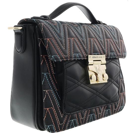 Preload https://img-static.tradesy.com/item/24036385/versace-jeans-collection-black-multicolor-faux-leather-cross-body-bag-0-0-540-540.jpg