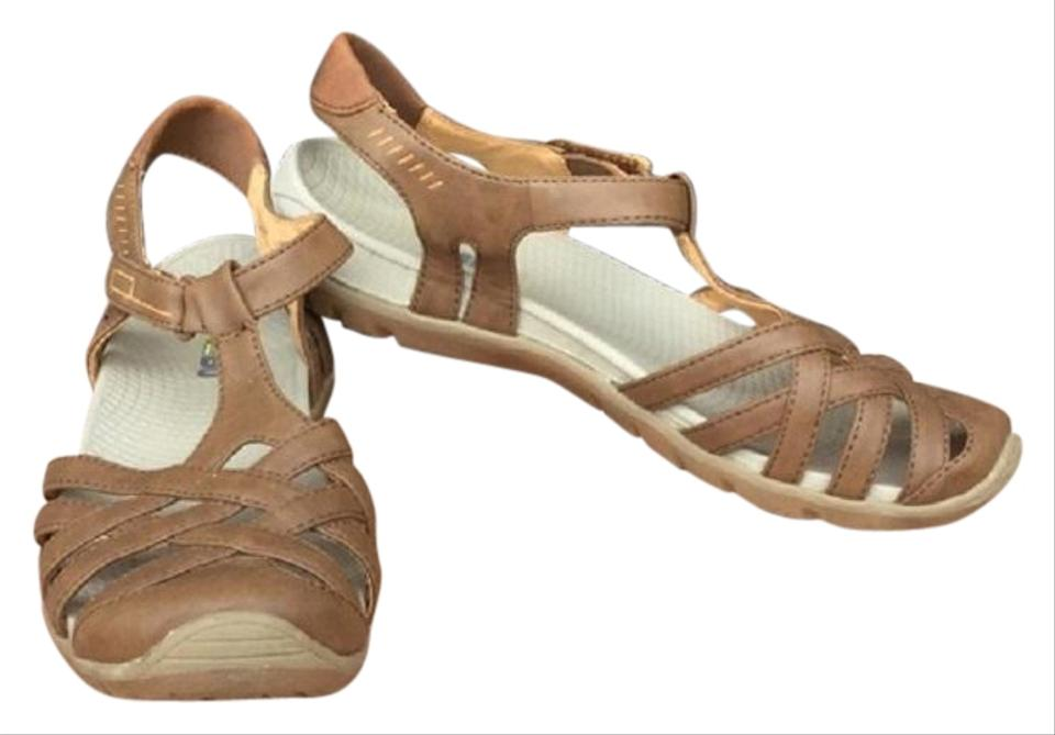 Light Brown Beena Strappy Comfort Sandals Sandals Comfort c00a2b