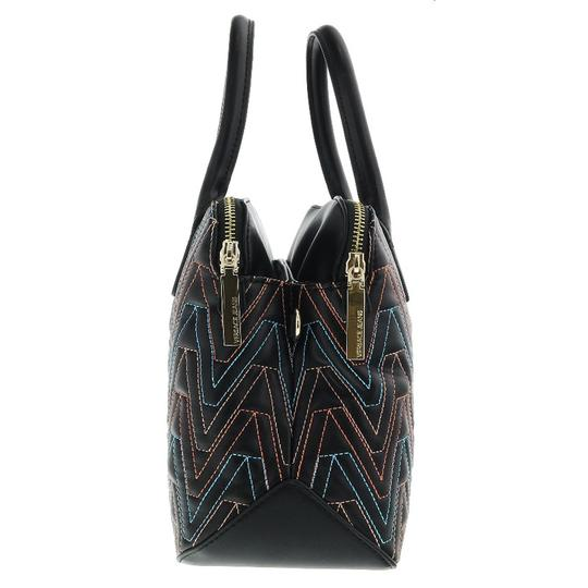 Versace Jeans Collection Satchel in Black/Multicolor Image 2