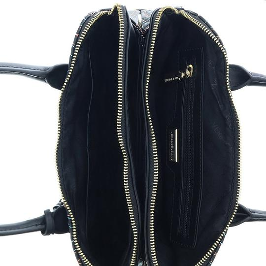 Versace Jeans Collection Satchel in Black/Multicolor Image 3