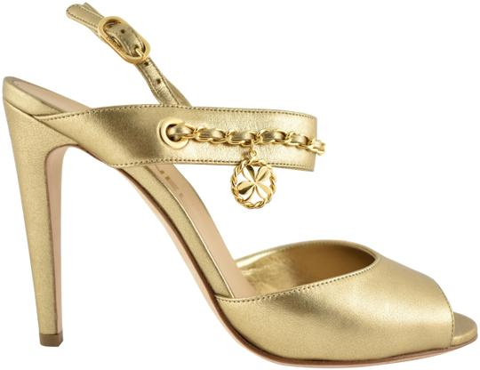 Preload https://img-static.tradesy.com/item/24036422/chanel-gold-18p-chain-cc-charm-clover-ankle-strap-sandal-classic-heel-pumps-size-eu-38-approx-us-8-r-0-1-540-540.jpg