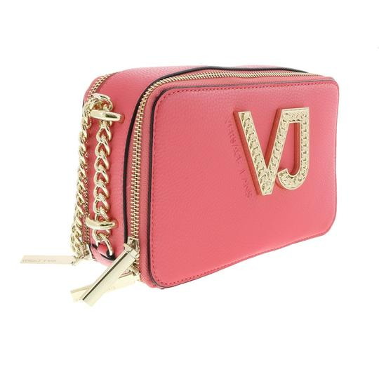Preload https://img-static.tradesy.com/item/24036589/versace-jeans-collection-coral-faux-leather-shoulder-bag-0-0-540-540.jpg