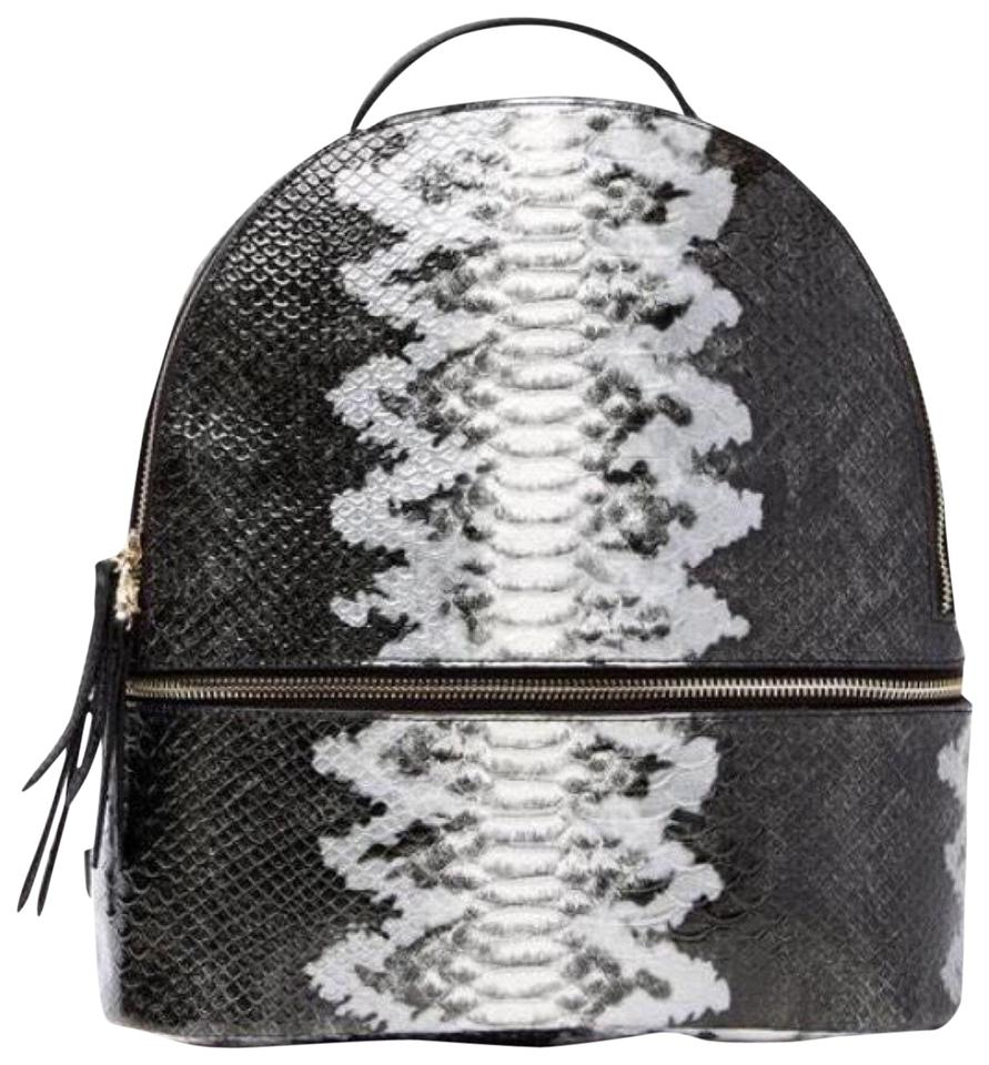 fe0b62fa0371 Snake Skin Mini Leather Backpack - Tradesy
