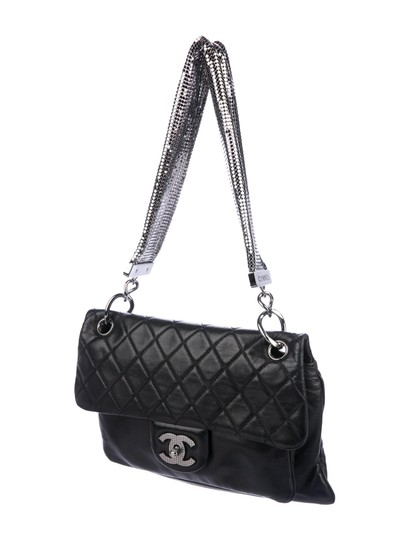 Chanel Mesh Chain Classic Flap Cruise Collection Chainmail Shoulder Bag Image 2
