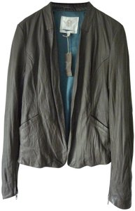 Burning Torch Green Leather Jacket
