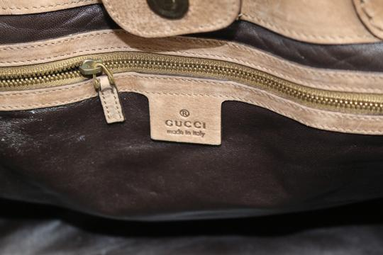 Gucci Tote in tan, brown Image 6