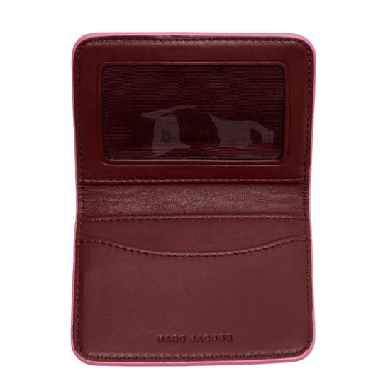 Marc Jacobs NWT MARC JACOBS Leather Train Pass Case Image 2