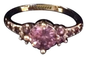 Other new purple spinel and sterling ring