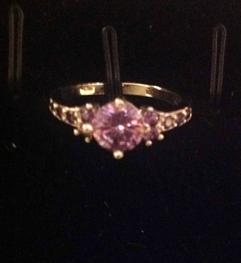 Other new purple spinel and sterling ring Image 1
